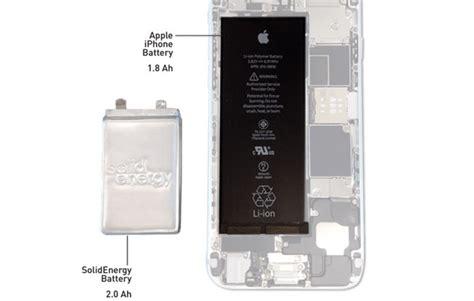 Promo Hits Tahun 2018 I Phone 6 6s Water Glitter Ribbon teknologi bateri mit akan menggandakan kapasiti bateri