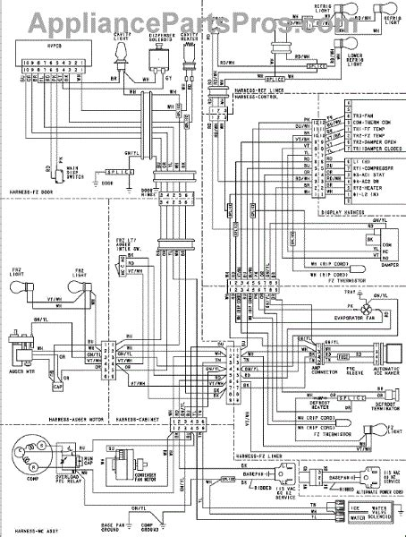 parts for amana asd2627keb wiring information parts
