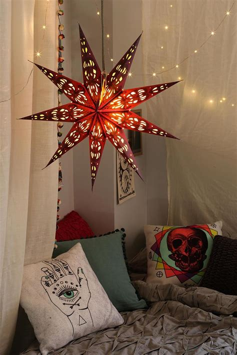 stars home decor magical thinking star paper lantern urbanoutfitters a
