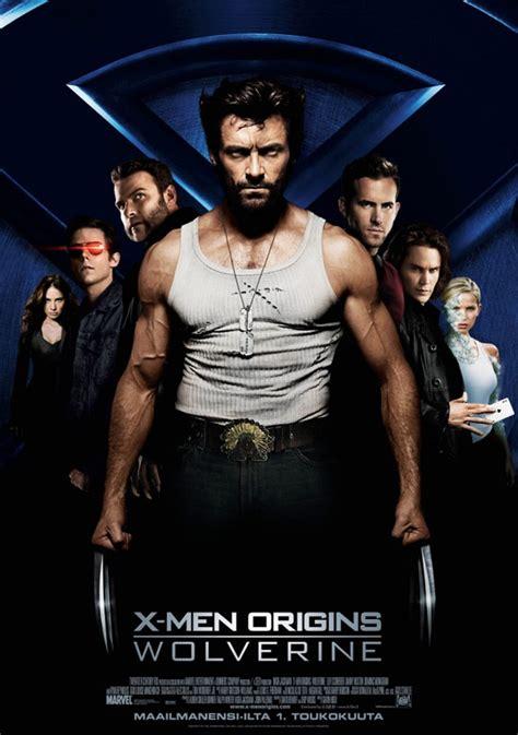film online x men 1 x men origins wolverine 2009 poster 1 trailer addict