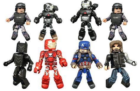 Avenger Figure Iron Ultron Dan minimates captain america civil war series figures comic