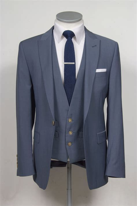 Grooms wedding suit   Wedding Suit   Blue suit wedding
