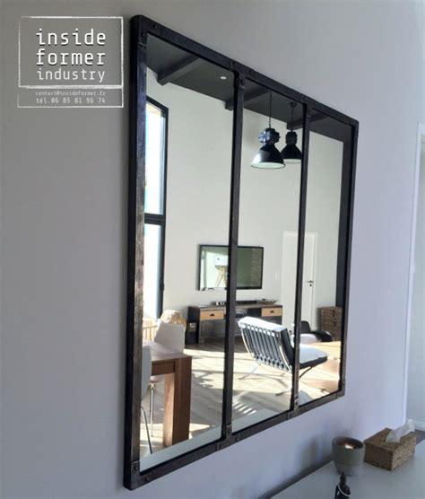 Miroir Style Industriel by Objets D 233 Coration Style Industriel Sur Mesure Nantes