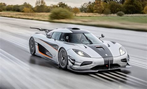 how fast can a smart car go koenigsegg sets fastest time to go from 0 186mph 0