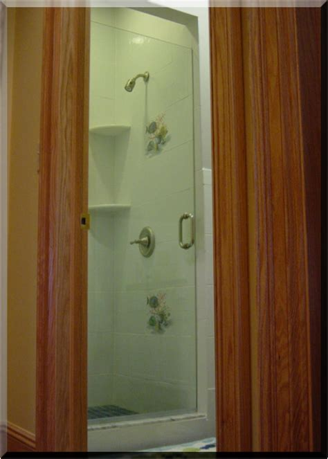 Shower Doors Greenville Sc by Quot Frameless Shower Doors Frameless Shower Enclosures Etched