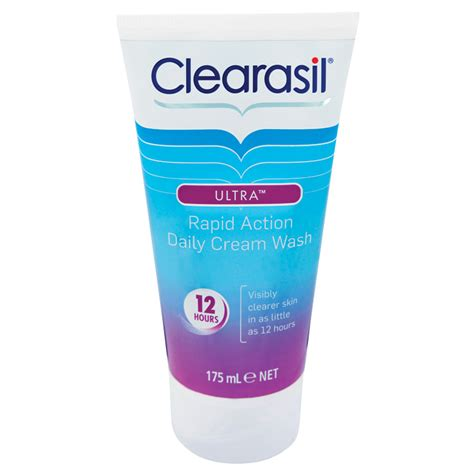 tattoo cream chemist warehouse clearasil ultra daily cream wash 175ml chemist warehouse