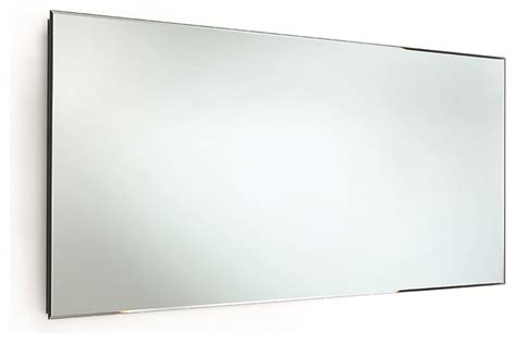 horizontal bathroom mirrors speci wall frameless rectangular horizontal bevelled 5mm mirror 51 2 quot x23 6