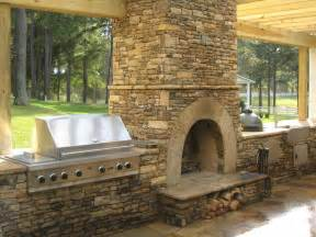 ideas outdoor fireplace plans with kitchen outdoor