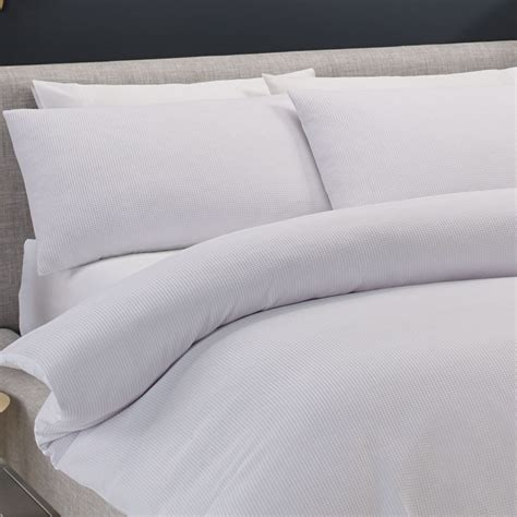 koo polyester cotton waffle quilt cover set