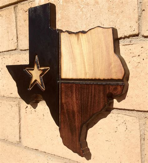 woodworking tx state wood sign on luulla