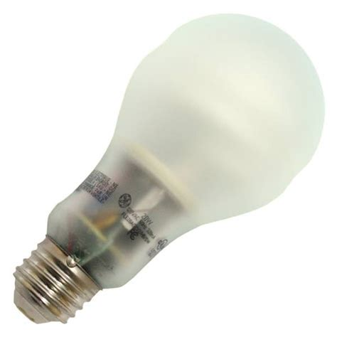 Ge Fluorescent Light Bulbs by Ge 67457 Fle20ag21 2 Swcd Pear A Line Base Compact