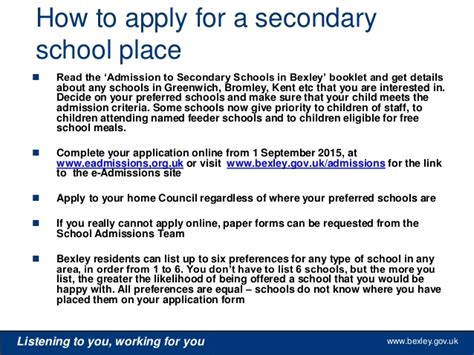 application letter for admission into secondary school application letter for admission into secondary school