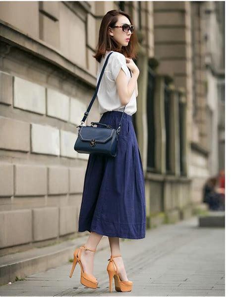 Cotton Korea Dress Blue Size S M L 61342 2017 2016 summer new korean fashion cotton