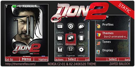themes nokia 5130 don 2 don 2 animated static theme for nokia s40 240 215 320