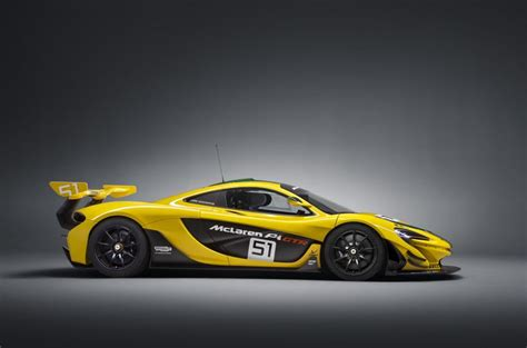 mclaren p1 gtr fully revealed in production form