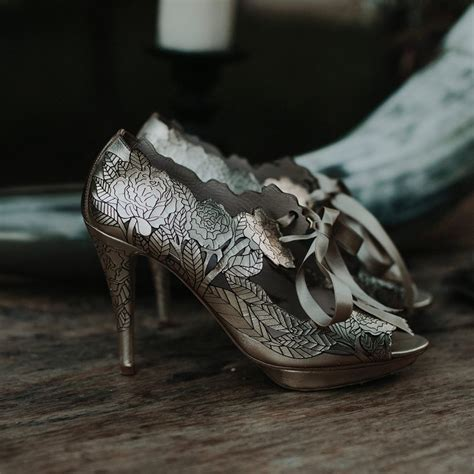 Wedding Shoes Vintage by 40 Scintillating Vintage Wedding Shoes To Wear On Themed