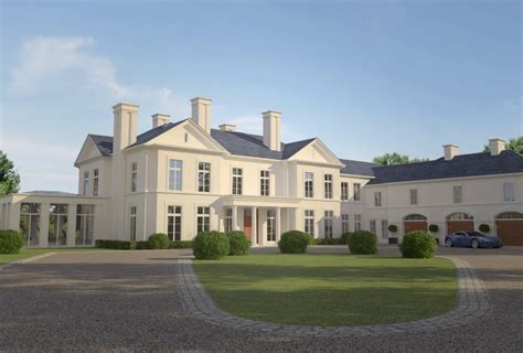 classical house design classical luxury house design situated in st george s hill surrey des ewing residential