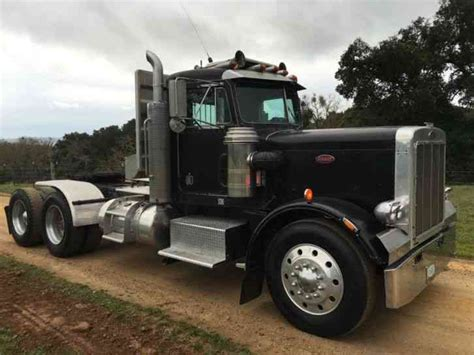 peterbilt 359 1974 daycab semi trucks