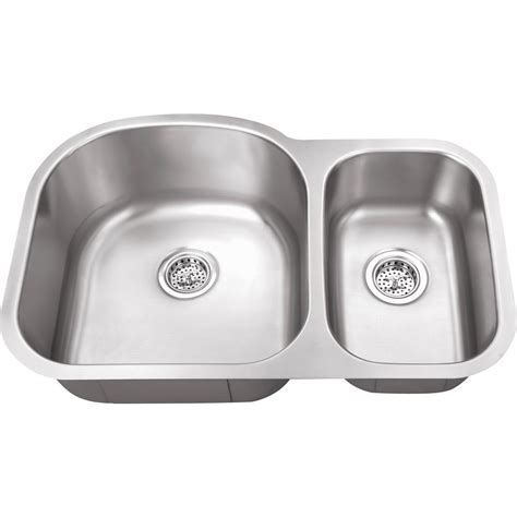 kitchen sink company ipt sink company undermount 32 in 16 gauge stainless
