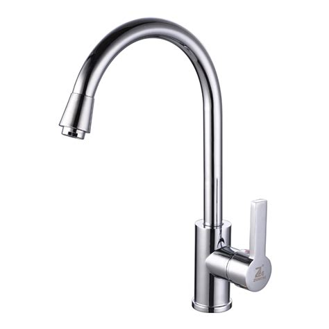 modern kitchen sink faucets modern brass kitchen sink faucet with cold and water
