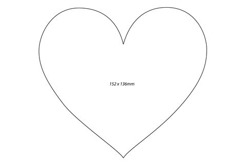 best photos of heart shape outline printables printable