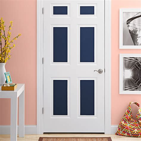 painted door accents