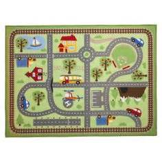 activity rugs for car play mat road play rug for activities