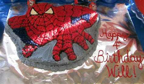 spiderman cake pattern spiderman birthday party part 3 cake and cookies