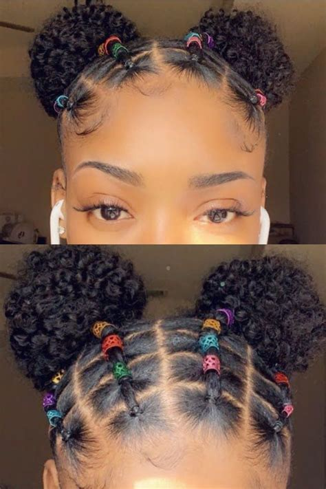 easy rubber band hairstyles  natural hair worth