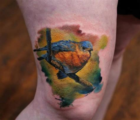 bloodlines tattoo realistic bird thigh by bloodlines gallery