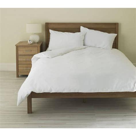 Plain White Duvet Cover plain white duvet quilt cover set with pillow cases single king