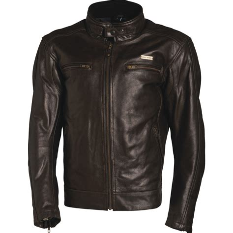 vented leather motorcycle jacket richa boston leather motorcycle jacket ce armoured leather