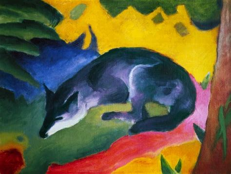 Black Blue The High Takes On Marc By Marc by Blue Black Fox Franz Marc