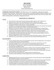 Resume Formats Sles by Combination Resume Format