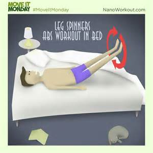 Ab Exercises In Bed 17 Best Images About Move It Monday Core On Pinterest