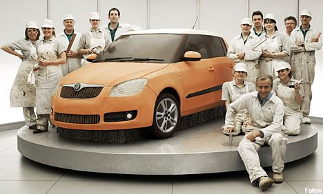 where is skoda cars made how to bake a car the amazing story skoda s new tv