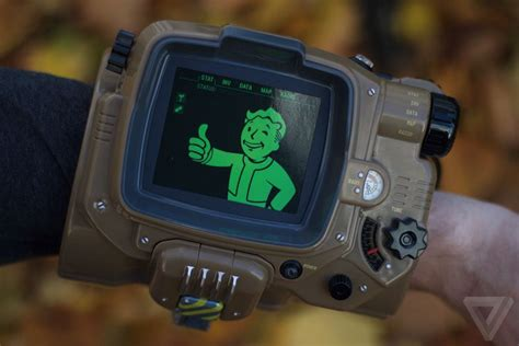 fallout wallpaper for apple watch a closer look at the fallout 4 pip boy the verge