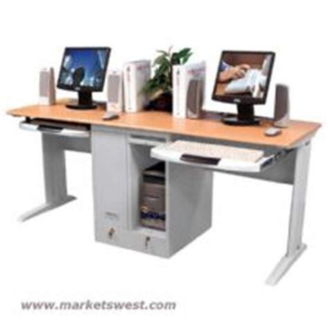 3 Person Computer Desk by Person Computer Desk W Pullout Tray