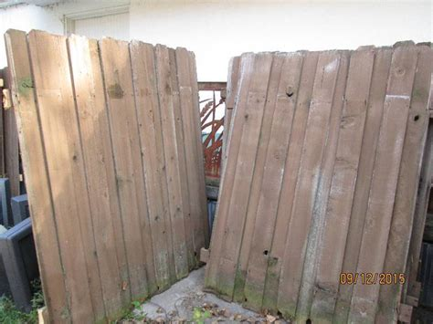 wood picket fence sections wood fencing panels and pickets lots of lumber in