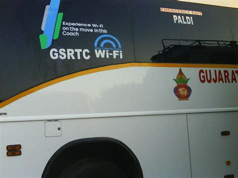 gujarat state buses offer wi fi   routes