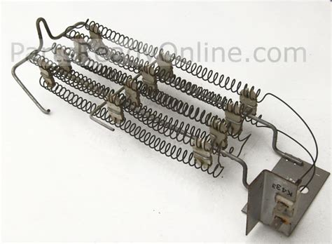 kenmore dryer heating element whirlpool kenmore electric dryer heating element 693062 5400 w 240 v replaces 4391960 197012