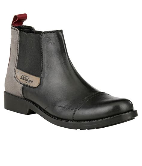 snapdeal boots delize sd324 black boots price in india buy delize sd324