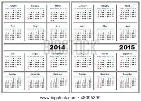 C Calendario 2015 Modelo De Calend 225 2014 2015 Bancos De Vetores Bancos