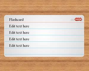 powerpoint template printable flash cards free education powerpoint templates for presentations