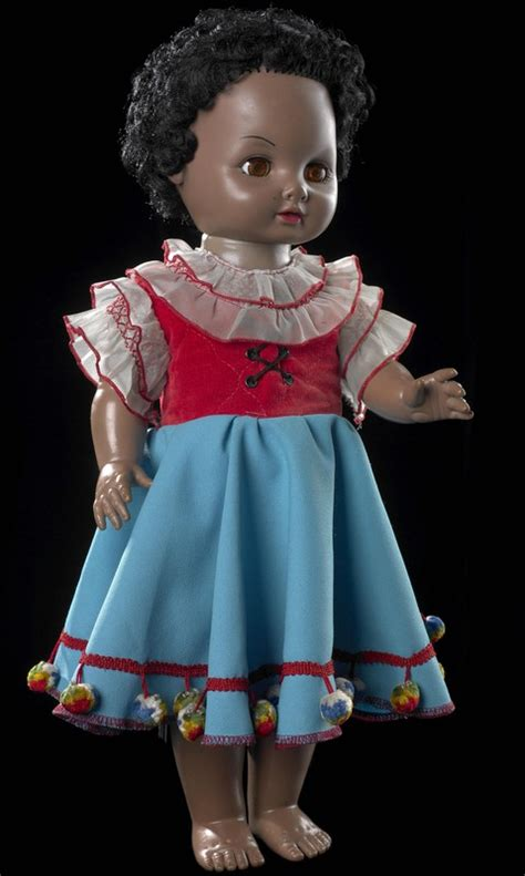 black doll nz doll manu unknown early 1970s gh014509 museum of