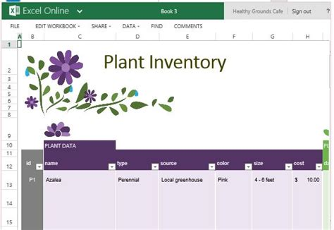 garden layout template free garden planner template for excel powerpoint