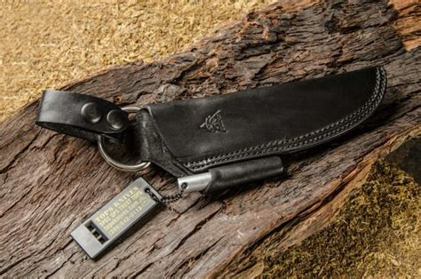 bushcraft survival black tops knives bushcraft leather sheath the trigger