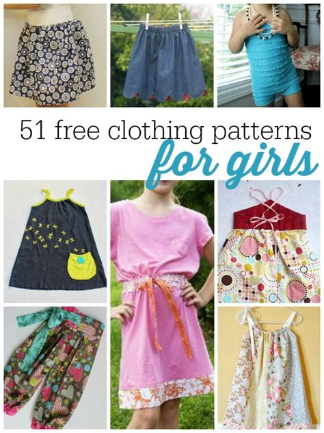 50 free clothing patterns for allfreesewing
