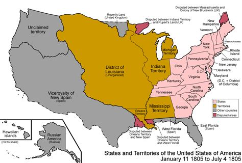map us territories 019 states and territories of the united states of america