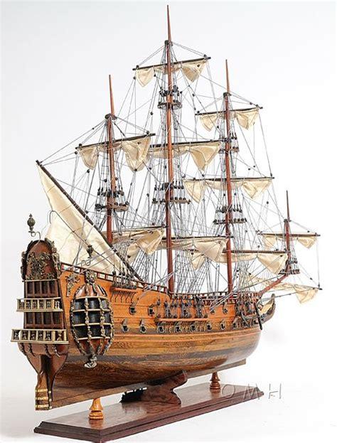 Wooden Warships Images - hms fairfax royal navy wooden ship model sailboat 35